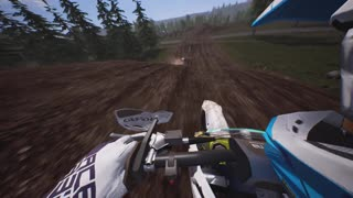 2-stroke Backflip + 360 spin during Race - TC125 (Slow Motion) - MXGP