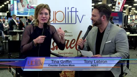 UpLift TV interviews Counter Culture Mom 2018 @ NRB convention