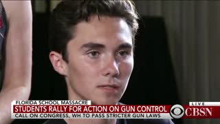 News media use Parkland students to push gun control after tragedy - Video