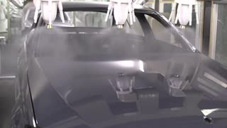 Paint Factory - Mercedes Benz C Class - Video