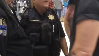 Cop Wants Her Close Up