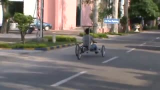 Solar powered vehicle.... Pakistani talent  - Video