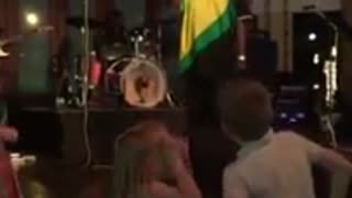 Children dancing to Reggae music in Jamaica - Video