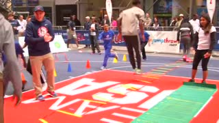 Team USA meets Times Square - Video