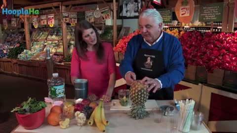 TV Personality Produce Pete Makes Perfect Shake for Healthier Hair & Nails