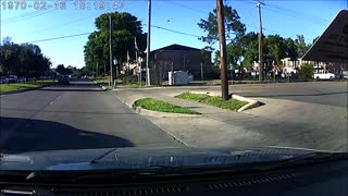 Woman Pushes Man in Front of Moving Car - Video