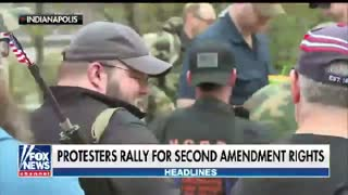 Gun rights advocates rally across the U.S. - Video