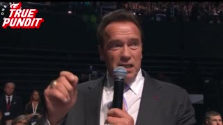 Arnold Schwarzenegger Attacks Trump in Paris - Video