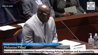George Floyd's Brother testifies at House Judiciary Committee Hearing