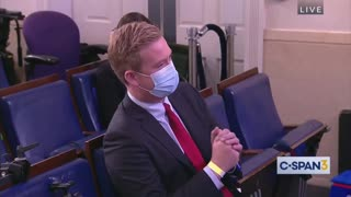 Reporter Asks Press Secretary About Biden Breaking His Own Mask Mandate