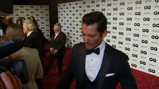 Boys' night out at GQ Awards - Video