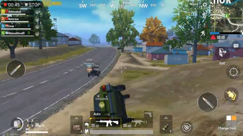Pubg Mobile Game Driving Car Throw Half The Map To Collect Weapons