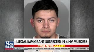 Illegal immigrant arrested in Nevada, suspected in 4 murders