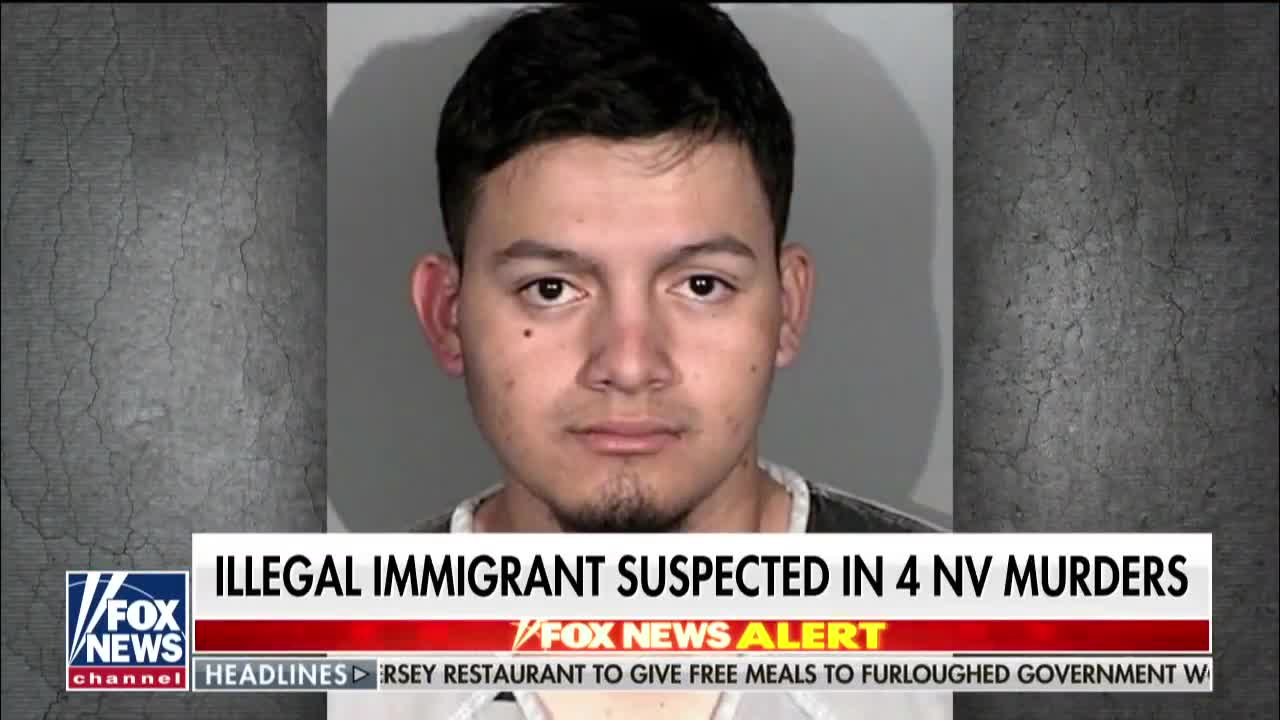 Michael Berry - Illegal immigrant arrested in Nevada, suspected in 4 murders