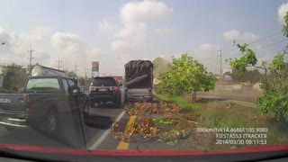 Cut Off | Truck Accident - Video