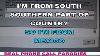 "ERROR 268D3 - I""M FROM MEXICO  - Video"