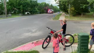 Fire department passing