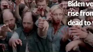 Biden voters rising from the dead