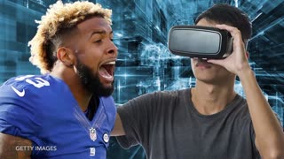 Fans Mistake Odell Beckham Jr. for Hologram - Video
