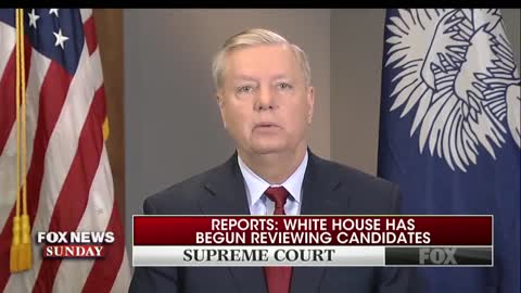 Graham 'hell bent' on filling next Supreme Court vacancy with conservative