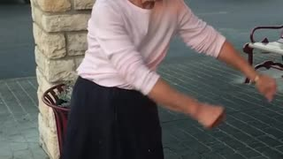 Grandma Does The Floss Dance