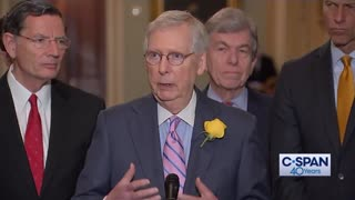 Mitch McConnell on Mexico tariffs