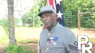 Black Confederate gives history lesson