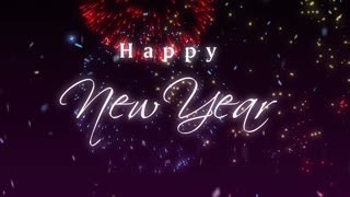 Happy New Year - Greeting 1 - Video
