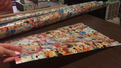 Wrapping paper hack! Did you know this?!