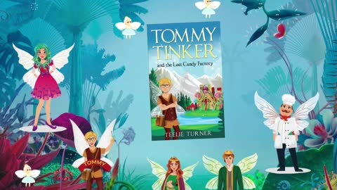 Meet Tommy Tinker And The Lost Candy Factory!