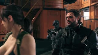 Metal Gear Solid 5 The Phantom Pain - Quiet Trailer (PS4/Xbox One) - Video