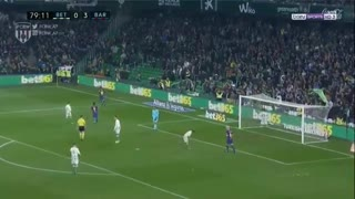 Gol de Messi (2) vs Real Betis - Video