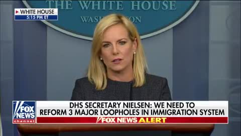 """Kirstjen Nielsen: '""""We are a country of compassion'"""