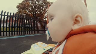 """""""Runaway baby"""" footage is adorably entertaining"""
