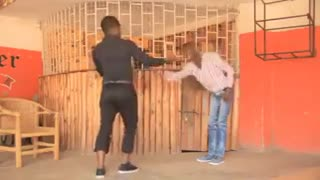 The Funny Battle Dance Between Two Humorous Guys - Video