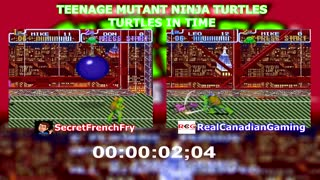 Let's Race: TMNT IV: Turtles In Time - Part 1 - Video