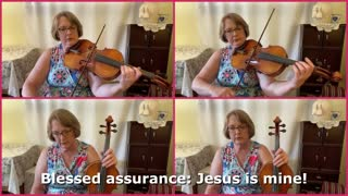 Blessed Assurance | Hymn for Viola in Four Parts