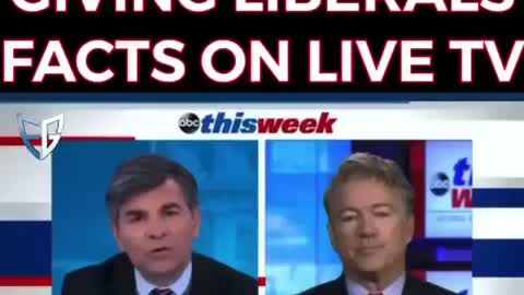 Rand Paul giving Liberals FACTS on Live TV!!!