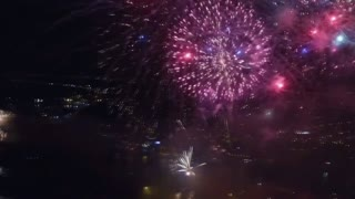 Blyth Tallships Regatta Fireworks - Video