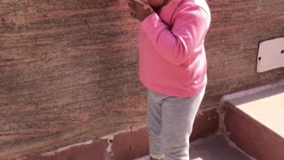 Brave Girl with Down-Syndrome Conquers First Steps