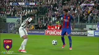 El cano de Neymar vs Alves - Video