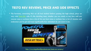 Testo Rev Does Really Works? - Video
