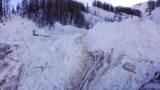 Close Call with an Avalanche