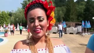 Colorful folklore festival opens in Bulgaria - Video