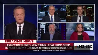 MSNBC's Lawrence O'Donnell tried to connect McCabe firing to cover up Stormy Daniels affair - Video