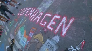 Copenhagen chalk art makes it into Guinness World Book of Records - Video