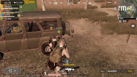 Collecting Best Weapons After Big Fight In Pubg Game