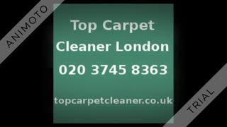 Top Carpet Cleaner London - Video