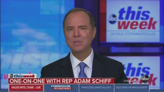 Schiff: Whistleblower has agreed to testify