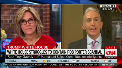 Trey Gowdy Suggests Congressional Work Isn't 'Fact-Centric,' But More About 'Validating' Beliefs